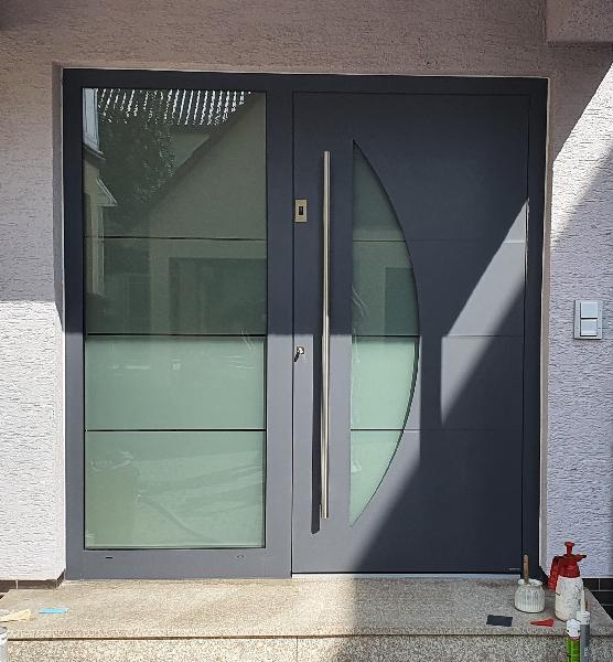 Referenz | R. & U. Winkenbach GmbH | Haustür: WERU SEDOR - Modell: H11165 | Viernheim